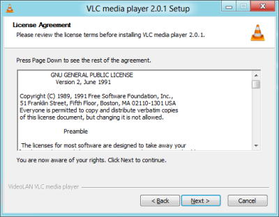 Cara Install Plugin VLC Media Player Langkah 3