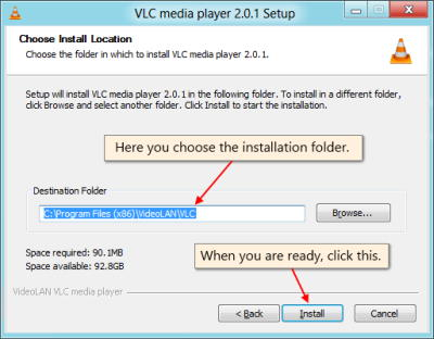 Cara Install Plugin VLC Media Player Langkah 5